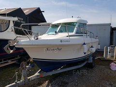 Jeanneau Merry fisher 625 fitted with new Honda 115hp outboard. - Scarba - ID:103124